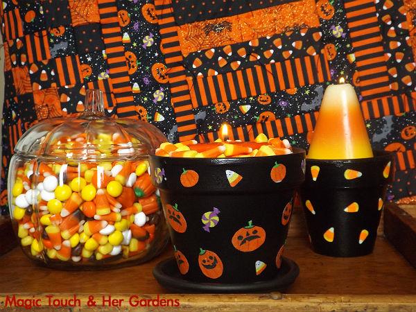 DIY Halloween CandleHolder