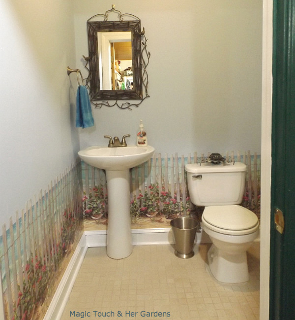 Powder Room Finished