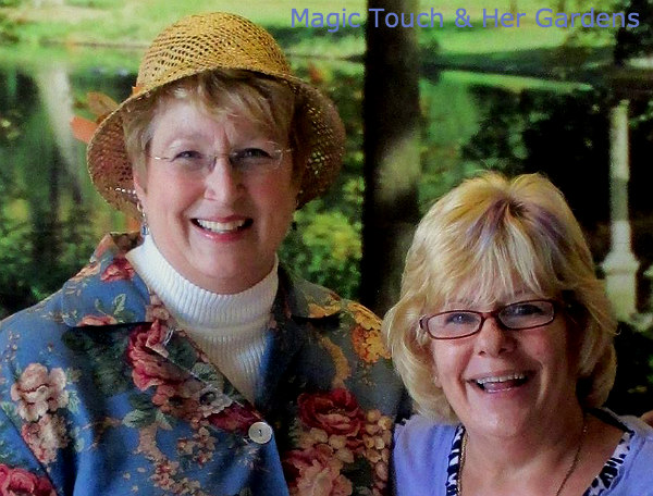 Barb Rosen and Judy A Muche at Longwood Gardens