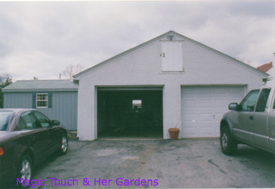 Garage before Magic Touch