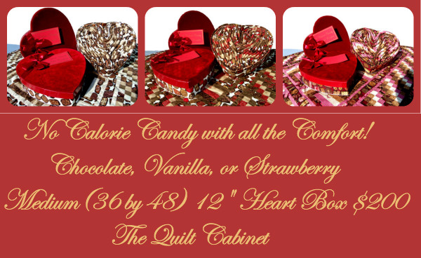 No Calorie Candy with all the Comfort/ www.TheQuiltCabinet.com
