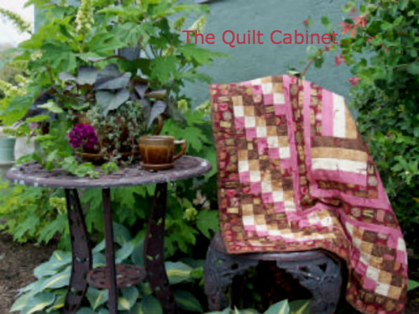 No Calorie Candy in the Garden The Quilt Cabinet