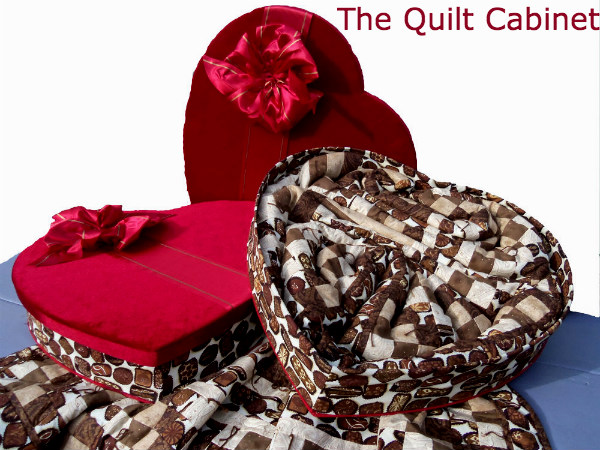 No Calorie Candy The Quilt Cabinet Large(57X72) Chocolate