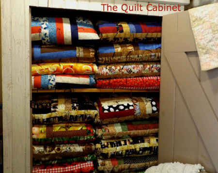 Magic Touch & Her Quilt Cabinet