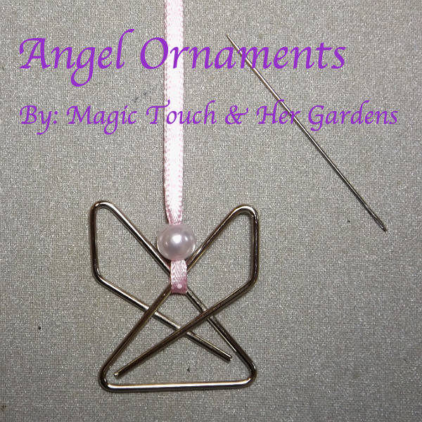 Angel Ornaments by Magic Touch  & Her Gardens