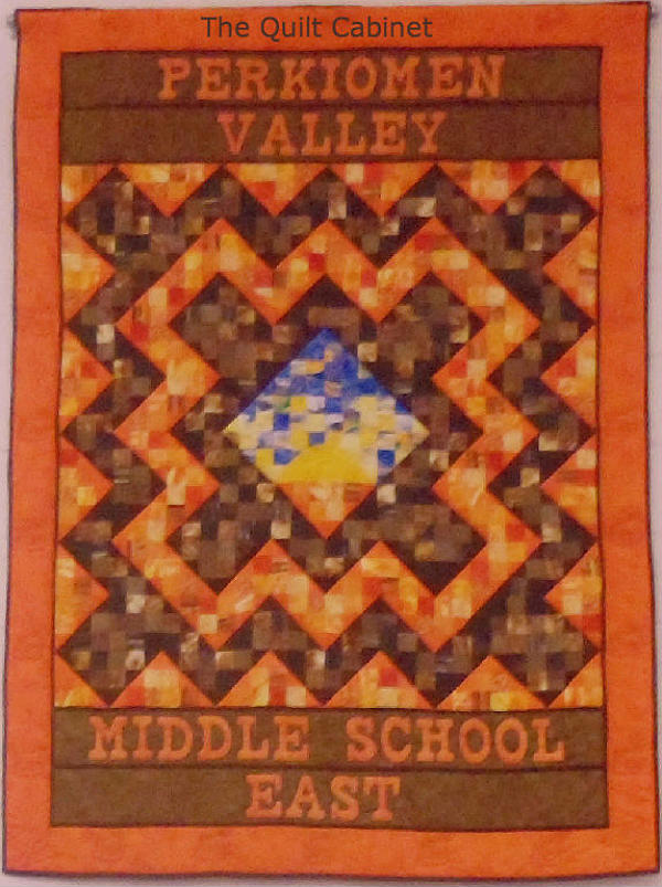 Perkiomen Valley East Middle School Quilt The Quilt Cabinet