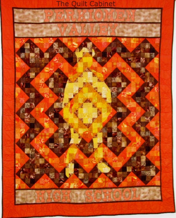 Perkiomen Valley High School Quilt The Quilt Cabinet