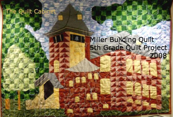 Miller Building Quilt The Quilt Cabinet