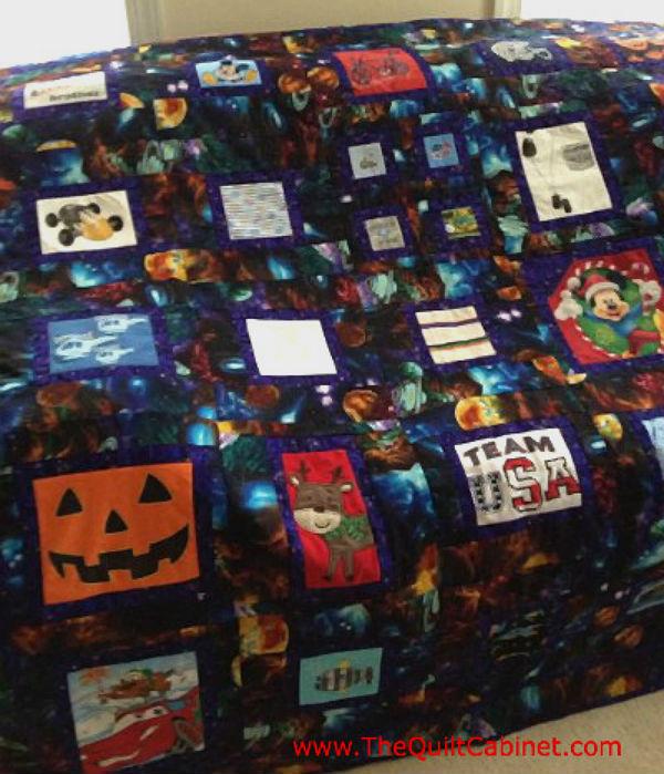 T-Shirt Quilt The Quilt Cabinet