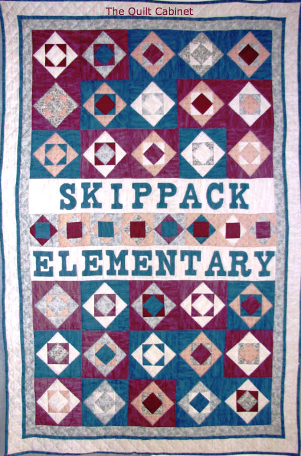 Skippack Elementary Quilt The Quilt Cabinet