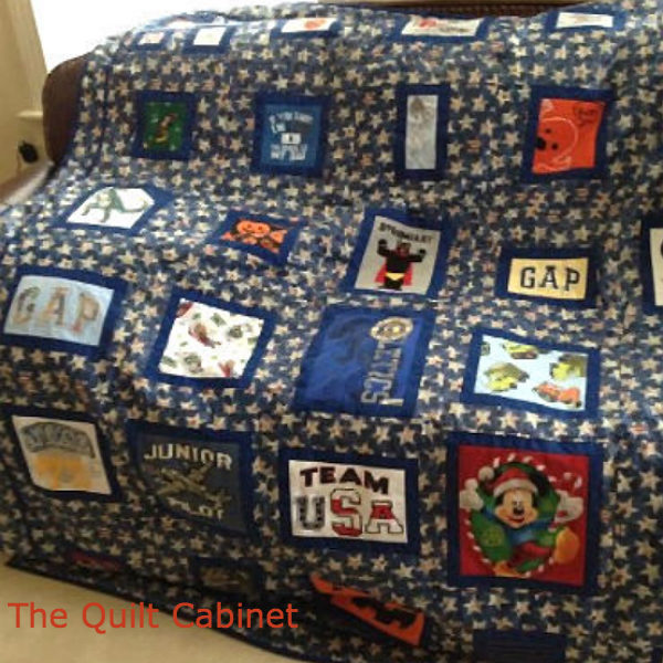 T-Shirt Quilt The Quilt Cabinet