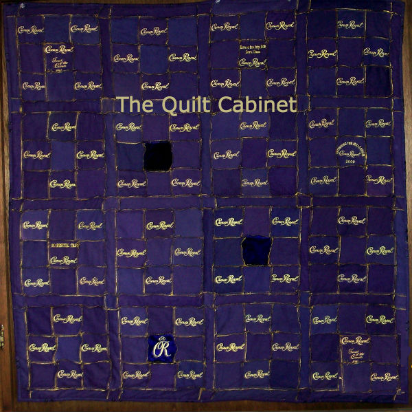 The Quilt Cabinet Crown Royal