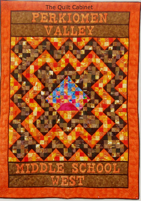 Perkiomen Valley West Middle School Quilt The Quilt Cabinet