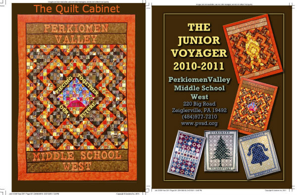 Perkiomen Valley Yearbook The Quilt Cabinet