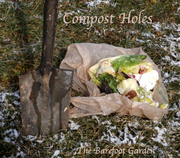 Homemade Fertilizer From Vegetable Scraps: Magic Touch & Her Compost Holes