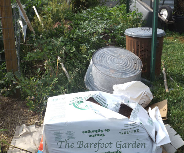 Compost Area @ The Barefoot Garden